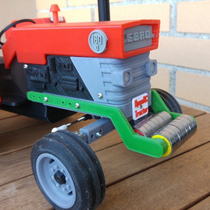 OpenRC Tractor counterweight