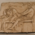 Slab from a Hellenistic frieze image
