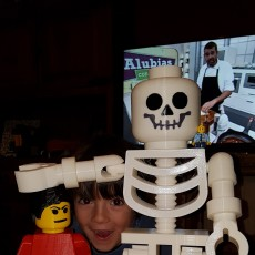 Picture of print of Classic Skeleton Minifig This print has been uploaded by Juan Carlos