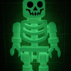 Picture of print of Classic Skeleton Minifig This print has been uploaded by Markus Becker