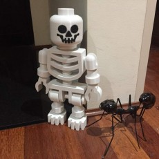 Picture of print of Classic Skeleton Minifig This print has been uploaded by Phillip Merrick