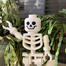 Picture of print of Classic Skeleton Minifig This print has been uploaded by Matt Edwards