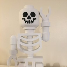 Picture of print of Classic Skeleton Minifig This print has been uploaded by Pedro Miguel de Sousa Caria