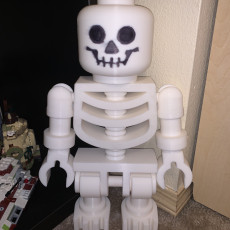 Picture of print of Classic Skeleton Minifig