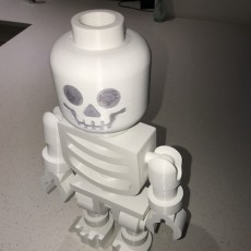 Picture of print of Classic Skeleton Minifig This print has been uploaded by David Stoneham