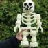 Classic Skeleton Minifig print image