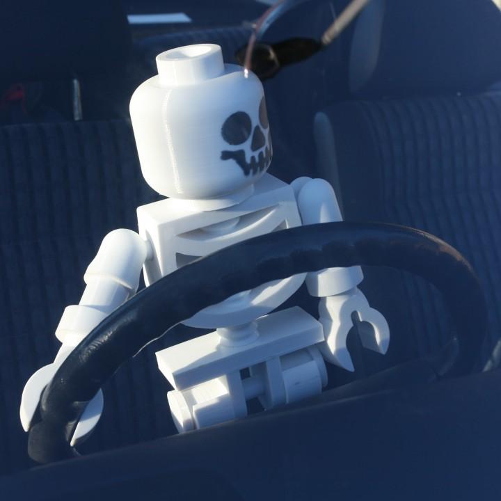 Classic Skeleton Minifig
