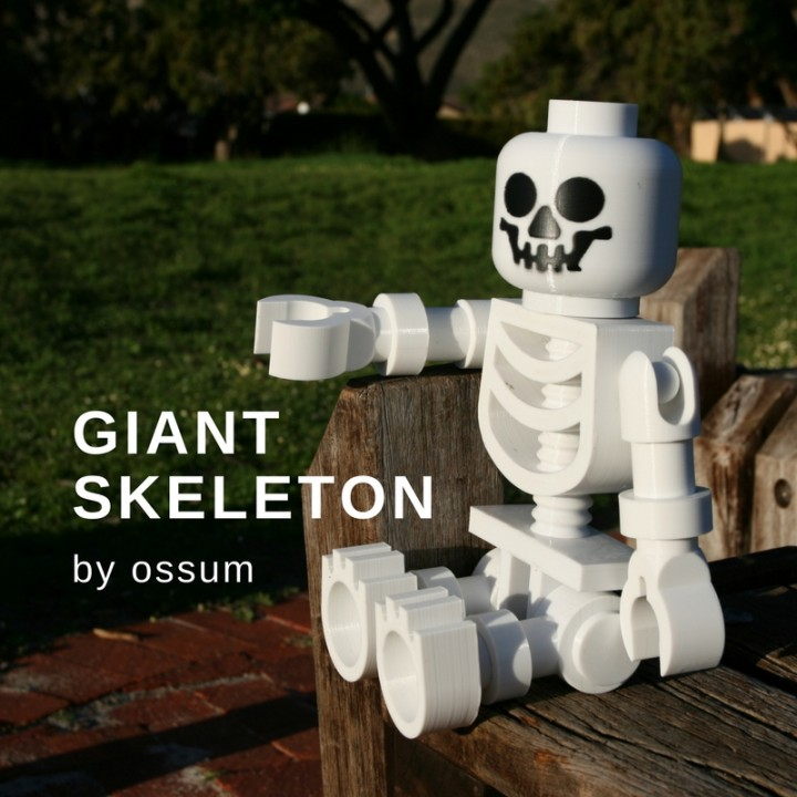 Classic Skeleton Minifig
