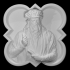 Relief portrait of Leonarda da Vinci image