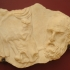 Fragment of an Attic funerary stele image