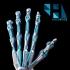 3D Printed Bionic Skeleton Hand image