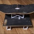 Upcycled Skateboard Desktop Shelves image