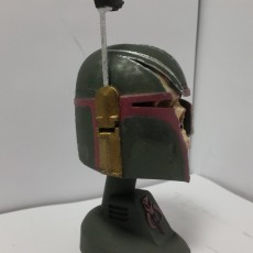 Picture of print of Mandalorian Trophy