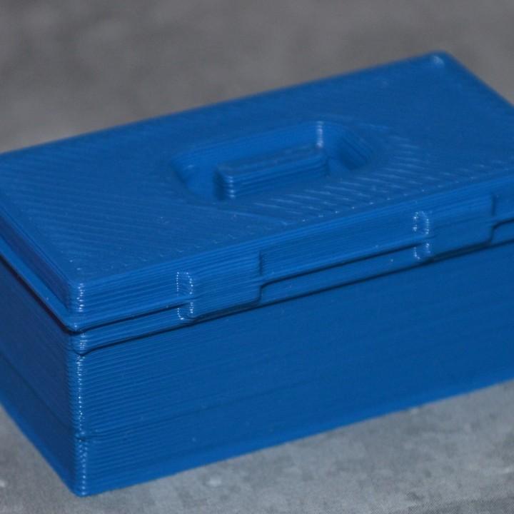Scale 1/10 tool box