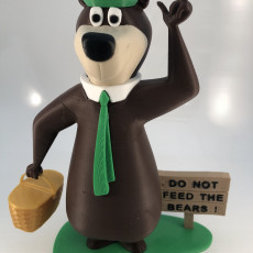 Picture of print of Yogi Bear