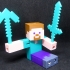 Minecraft Steve Articulated (rubber band) image