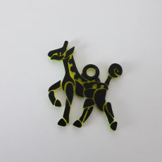 Picture of print of Giraffe pendant