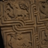 Slab fragment with zoomorphic and vegetal motifs image