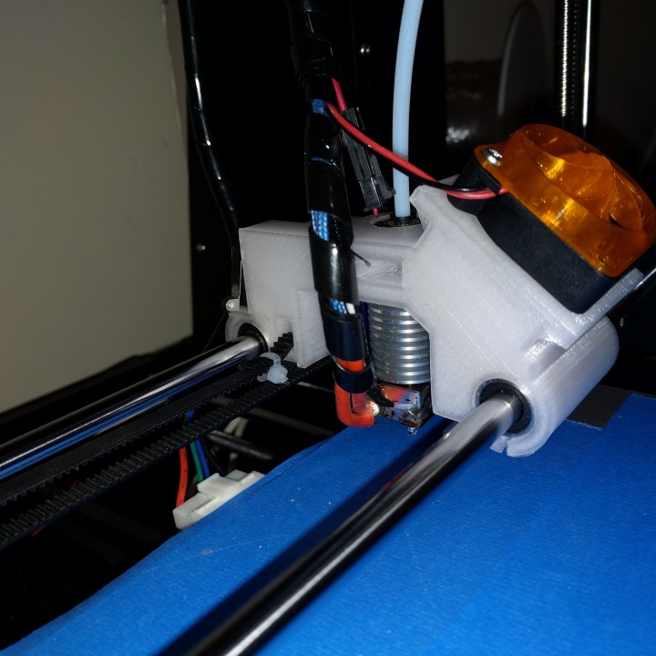 ANET A6 Carriage for E3D & Bowden