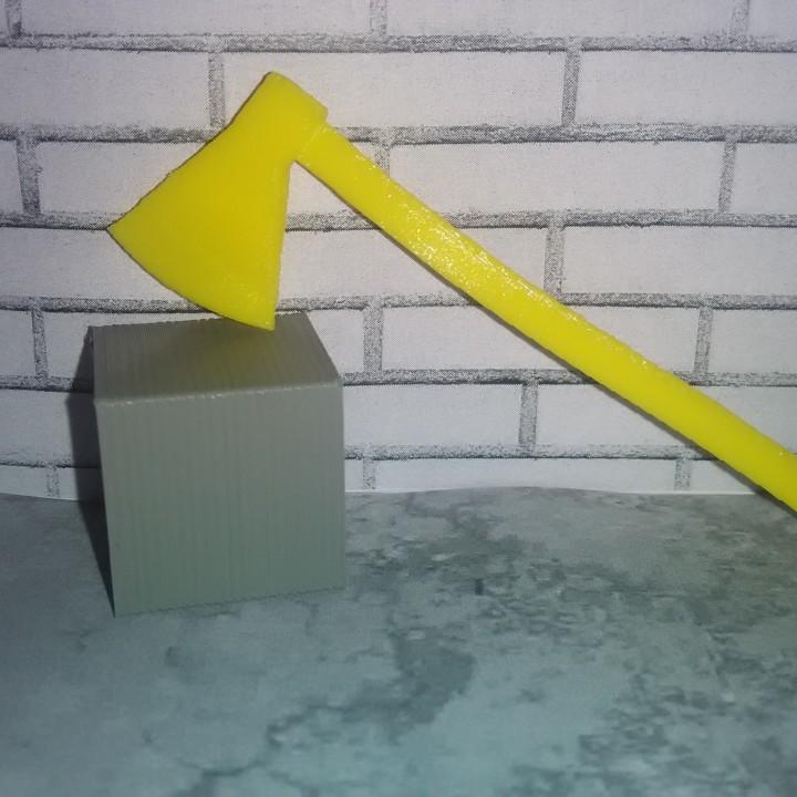 Scale 1/10 axe
