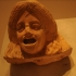 Theatre mask of a woman image