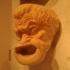 Theatre mask of a man image