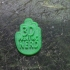 3D Printing Nerd Creator Pin image