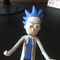 Picture of print of Rick Action Figure (Rick and Morty) This print has been uploaded by Tony