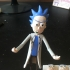 Rick Action Figure (Rick and Morty) print image