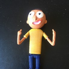 Picture of print of Morty Action Figure (Rick and Morty) This print has been uploaded by Tony