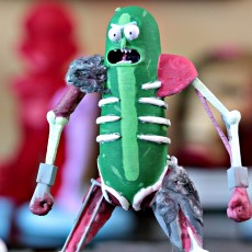 Picture of print of Rat Warrior Pickle Rick This print has been uploaded by Uncle Jessy
