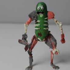 Picture of print of Rat Warrior Pickle Rick This print has been uploaded by Tomek Dymek