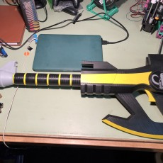 Picture of print of Black Ranger Power Axe