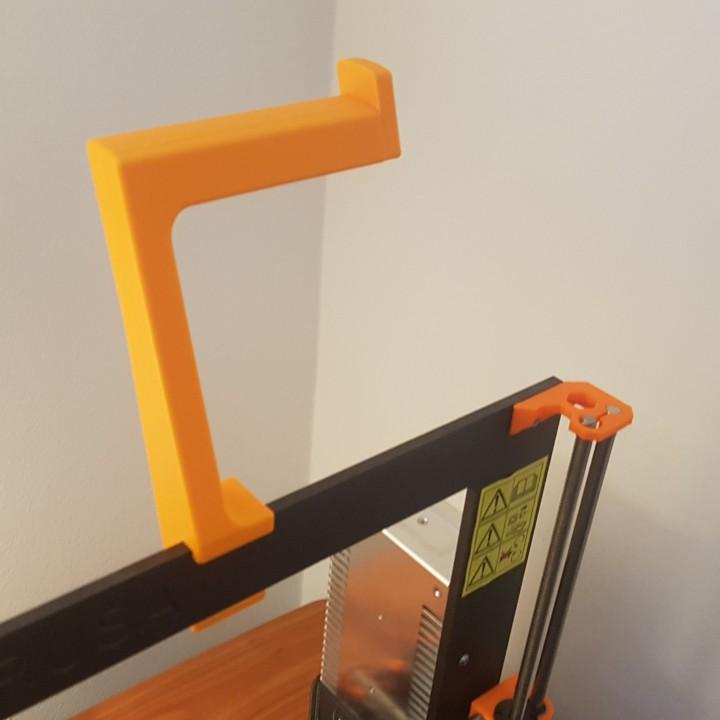 Improved spool holder for the Original Prusa i3 MK2
