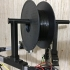 Universal Delta 2020 Spool holder / Filament support, supportless and screwless image