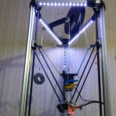 Flying extruder for Delta printers