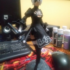 Picture of print of Nier Automata 2B This print has been uploaded by Sam Liccardello