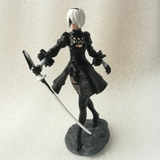 Picture of print of Nier Automata 2B This print has been uploaded by Valery Lobanov