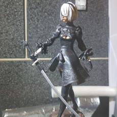 Picture of print of Nier Automata 2B This print has been uploaded by Dominic larner