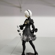 Picture of print of Nier Automata 2B This print has been uploaded by Gary Hathaway