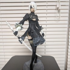 Picture of print of Nier Automata 2B This print has been uploaded by Jonathan Atkinson