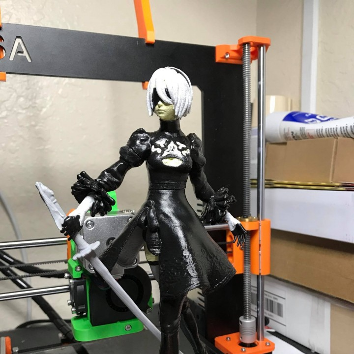 Picture of print of Nier Automata 2B This print has been uploaded by Alden Padron