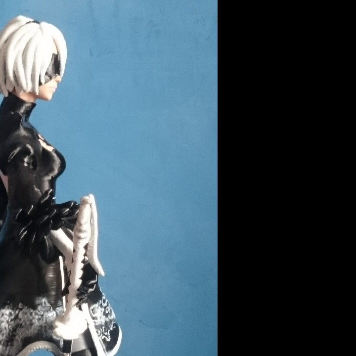 Picture of print of Nier Automata 2B This print has been uploaded by julian humberto tangarife