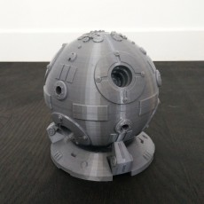 Picture of print of Star Wars Training Droid with Custom Base