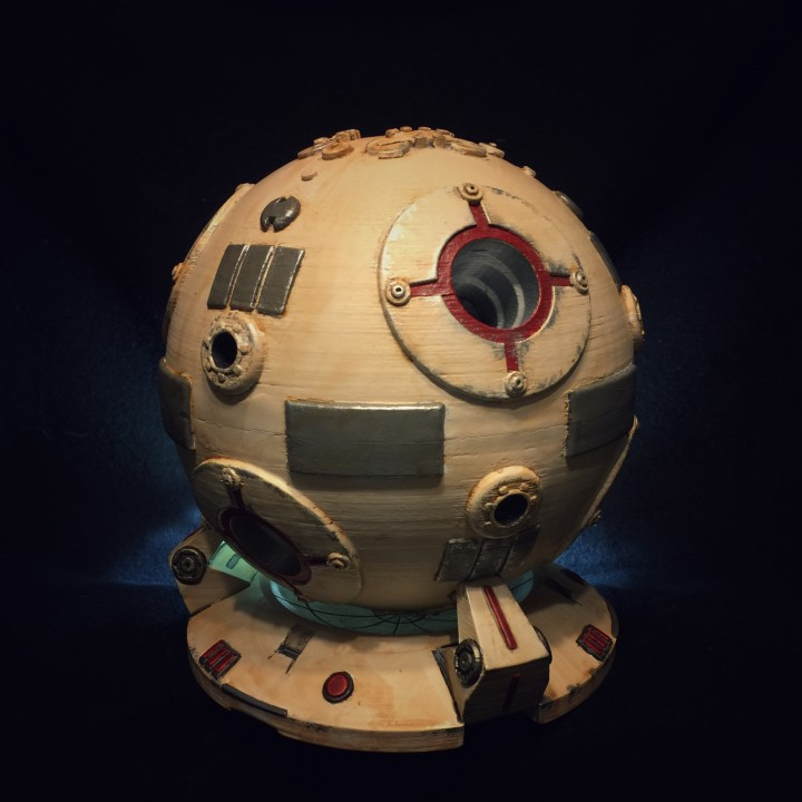 Star Wars Training Droid with Custom Base