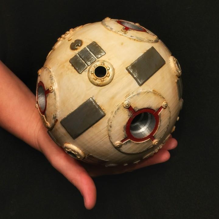 Star Wars Training Droid with Custom Base
