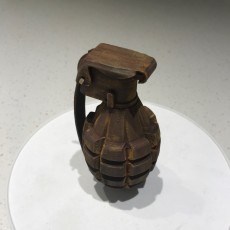 Picture of print of MK2 grenade