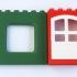 LEGO DUPLO - Compatible Brick Wall 6x1x5 image