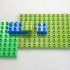LEGO DUPLO compatible base 8 x 12 - 1/2 height image