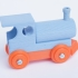 BRIO like Steam Engine - Upgrade and assembled image